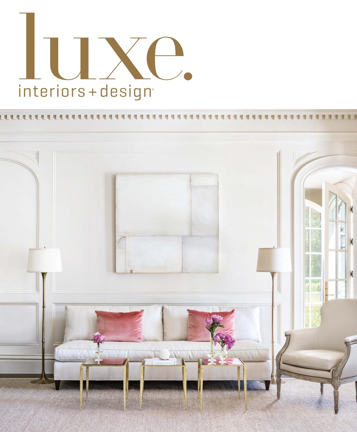luxe magazine september 2016 national by sandow issuu. Black Bedroom Furniture Sets. Home Design Ideas