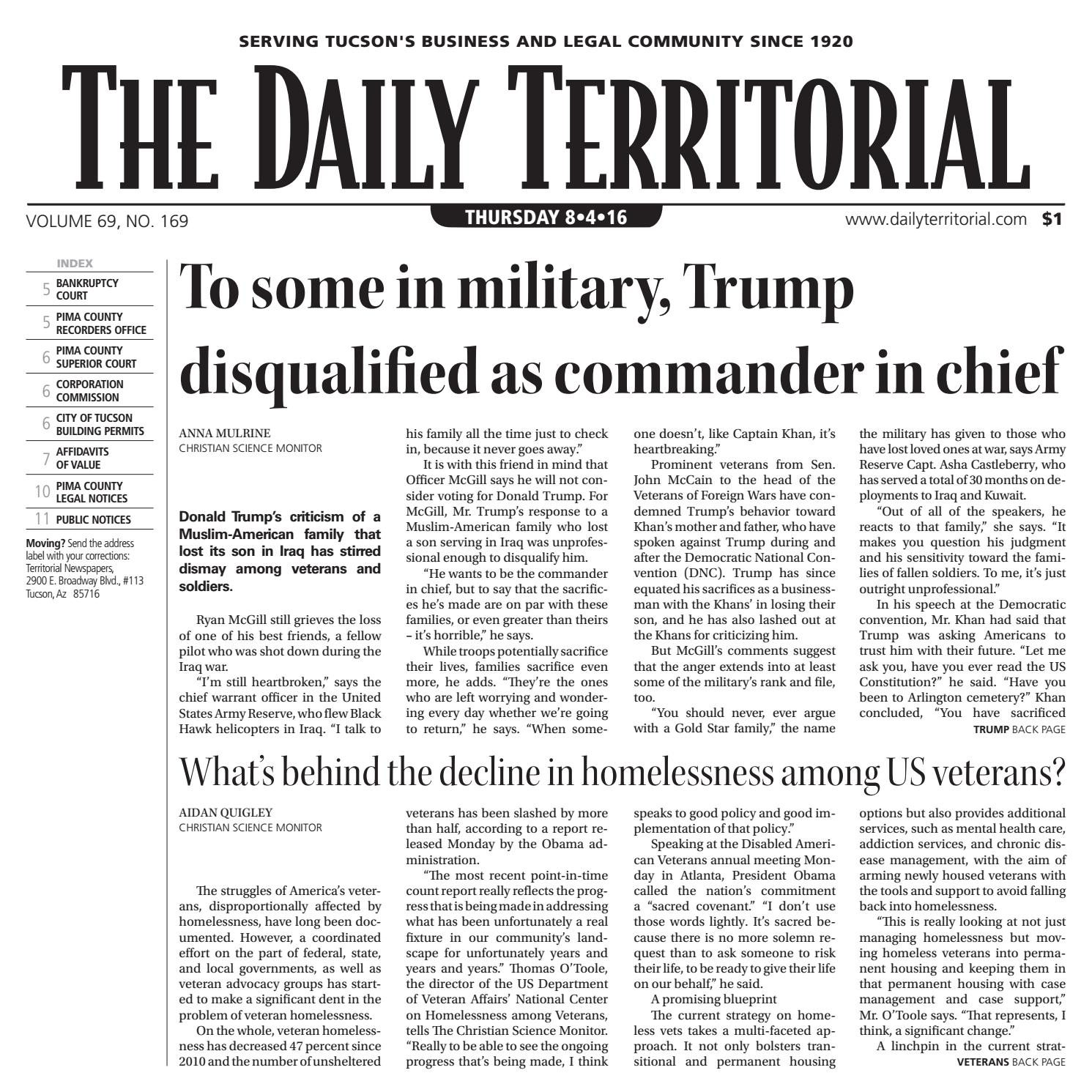 842016 the daily territorial by wick communications issuu aiddatafo Image collections