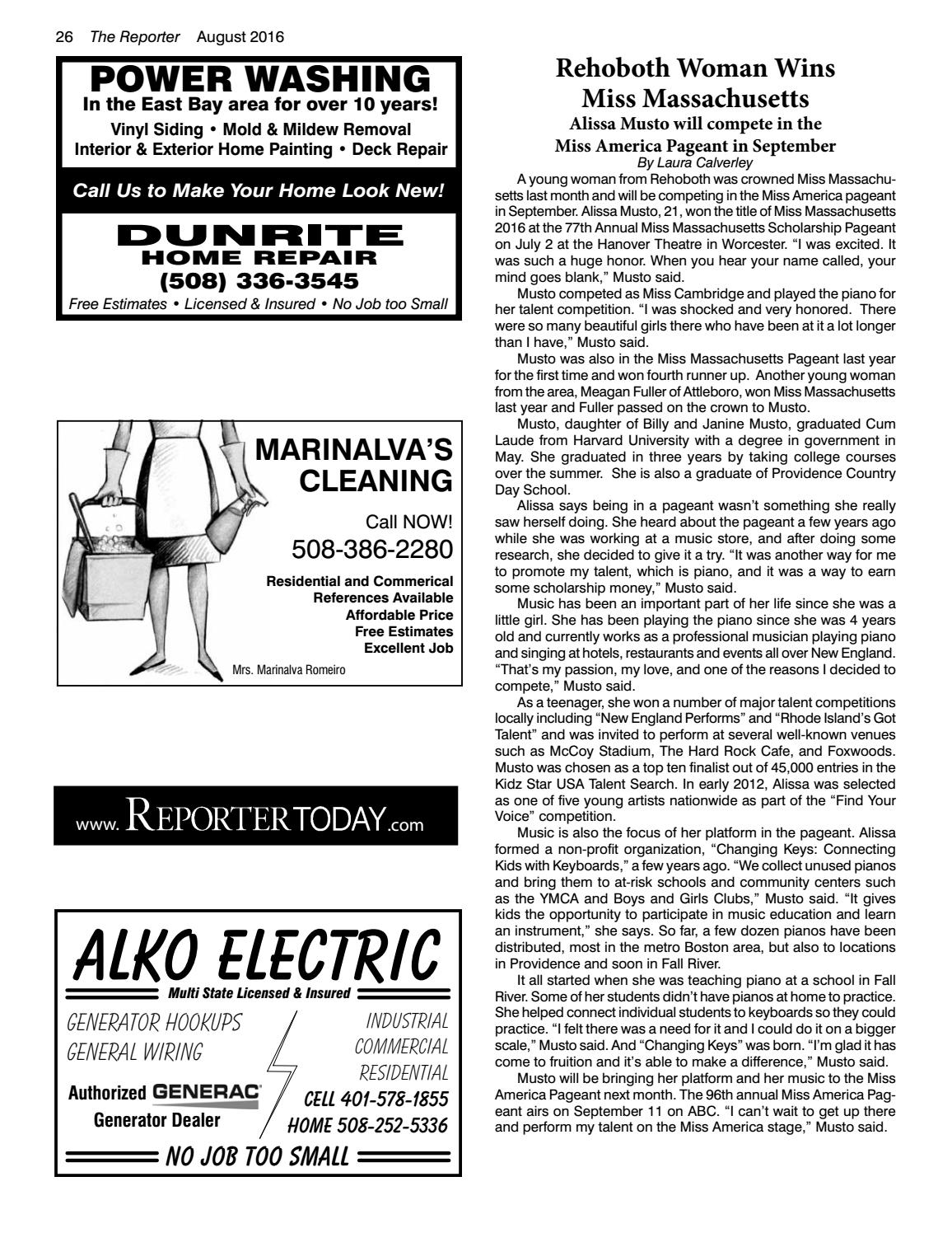 August 2016 Rehoboth Reporter By Dick Georgia Issuu Wiring Money From Usa