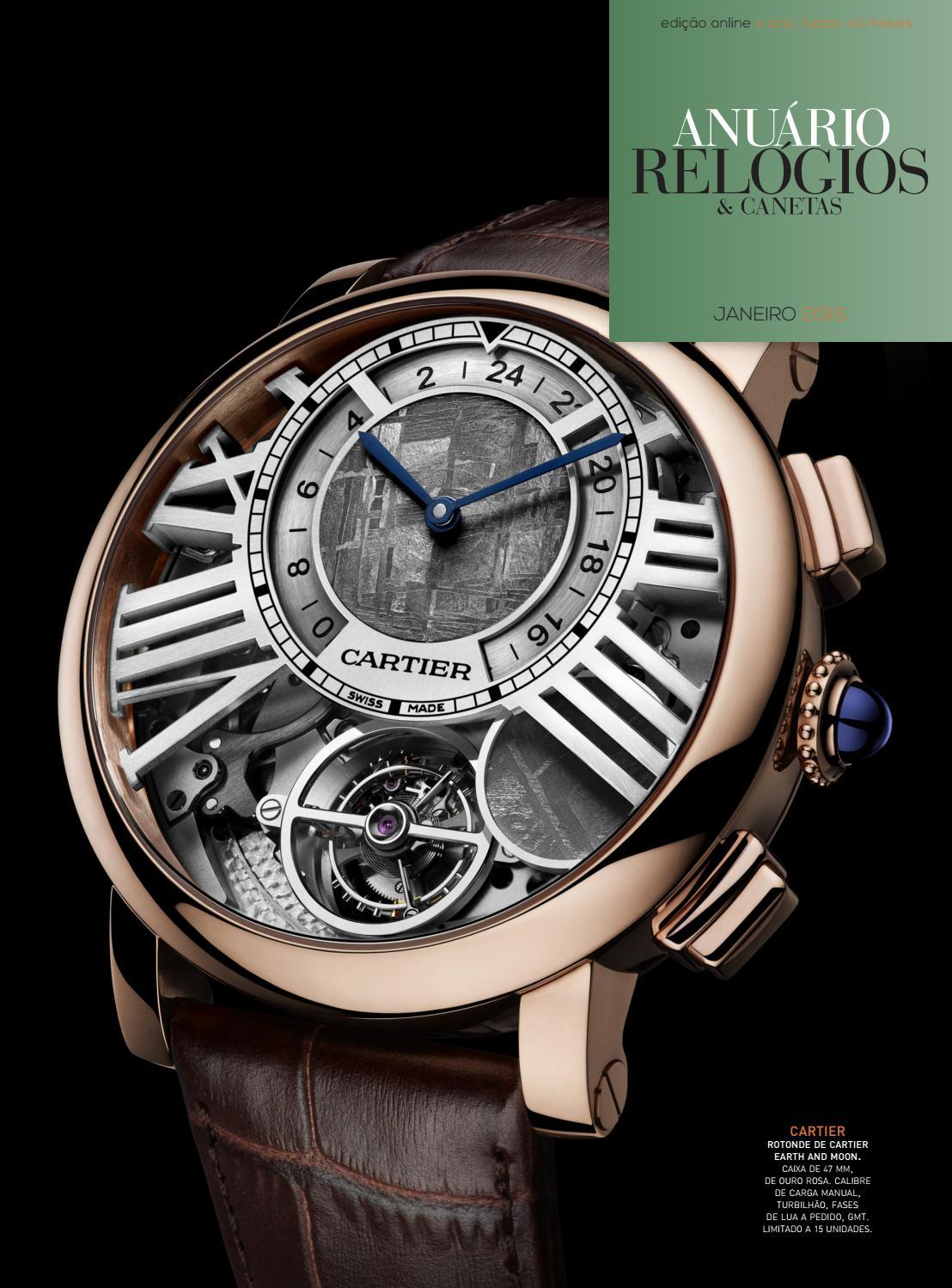 7dddd573ba0 Anuário Relógios   Canetas - Janeiro 2016 by Anuário Relógios   Canetas -  issuu
