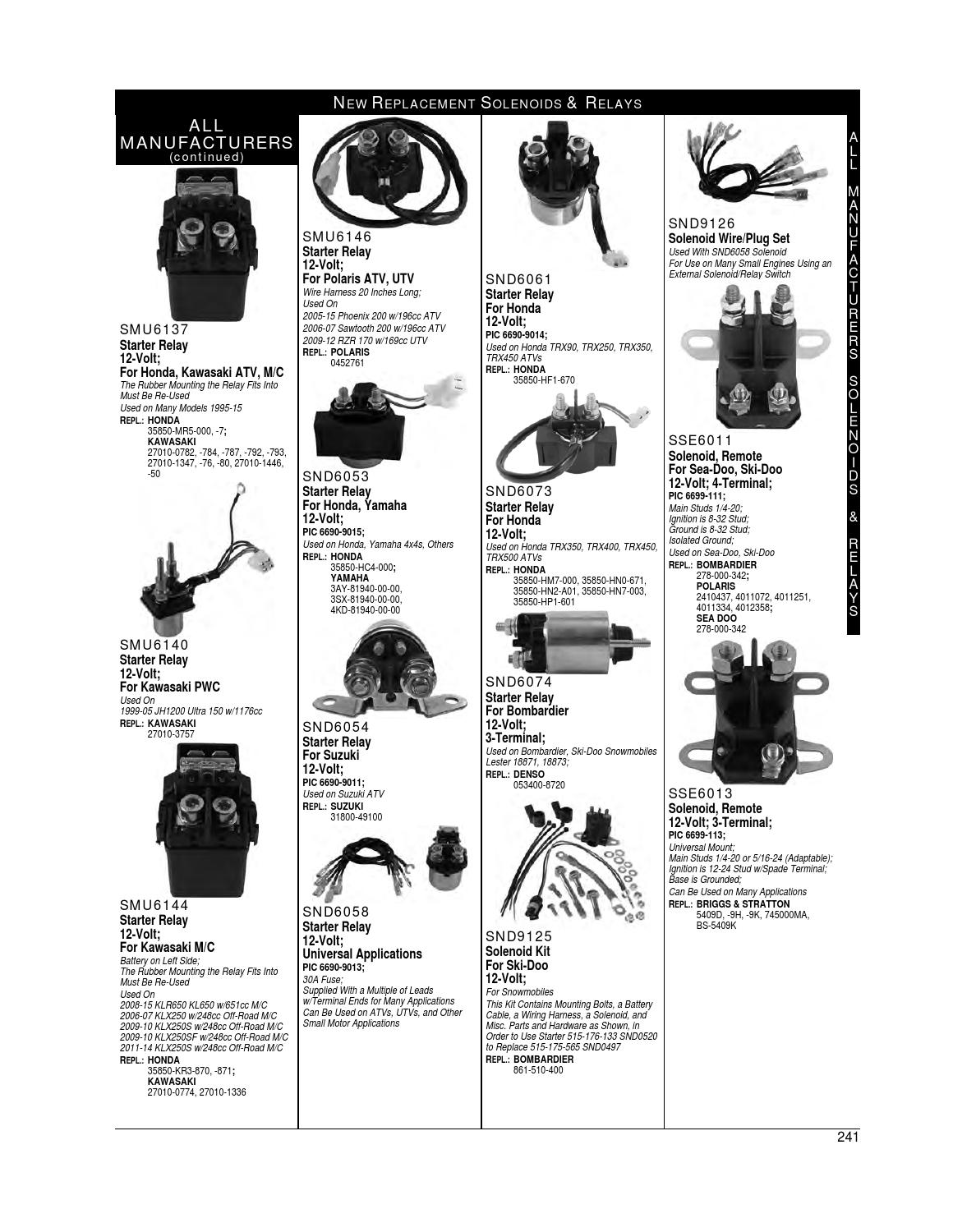 Powersports 2016 Catalog By Arrowhead Electrical Products Issuu Polaris Atv Wiring Harness