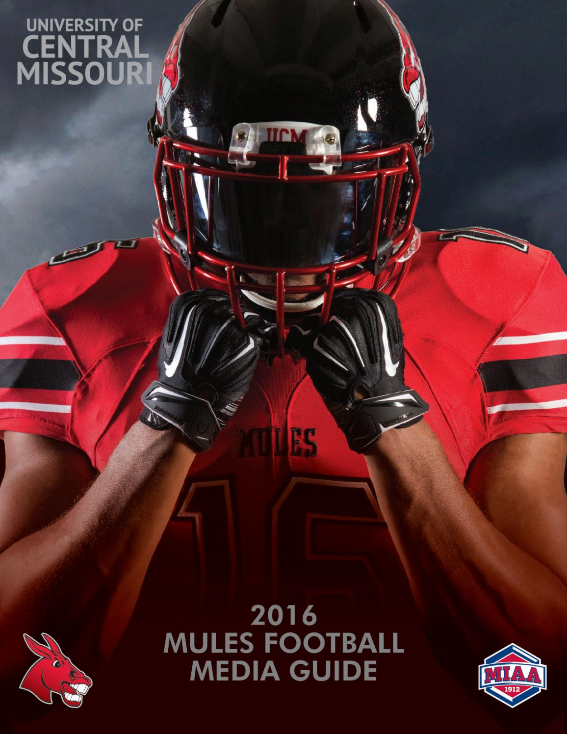 2016 Central Missouri Mules Football Media Guide by UCM ...