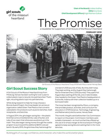 The Promise by Girl Scouts of the Missouri Heartland - issuu