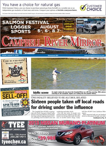 d2689875d0e1 Campbell River Mirror, August 05, 2016 by Black Press - issuu
