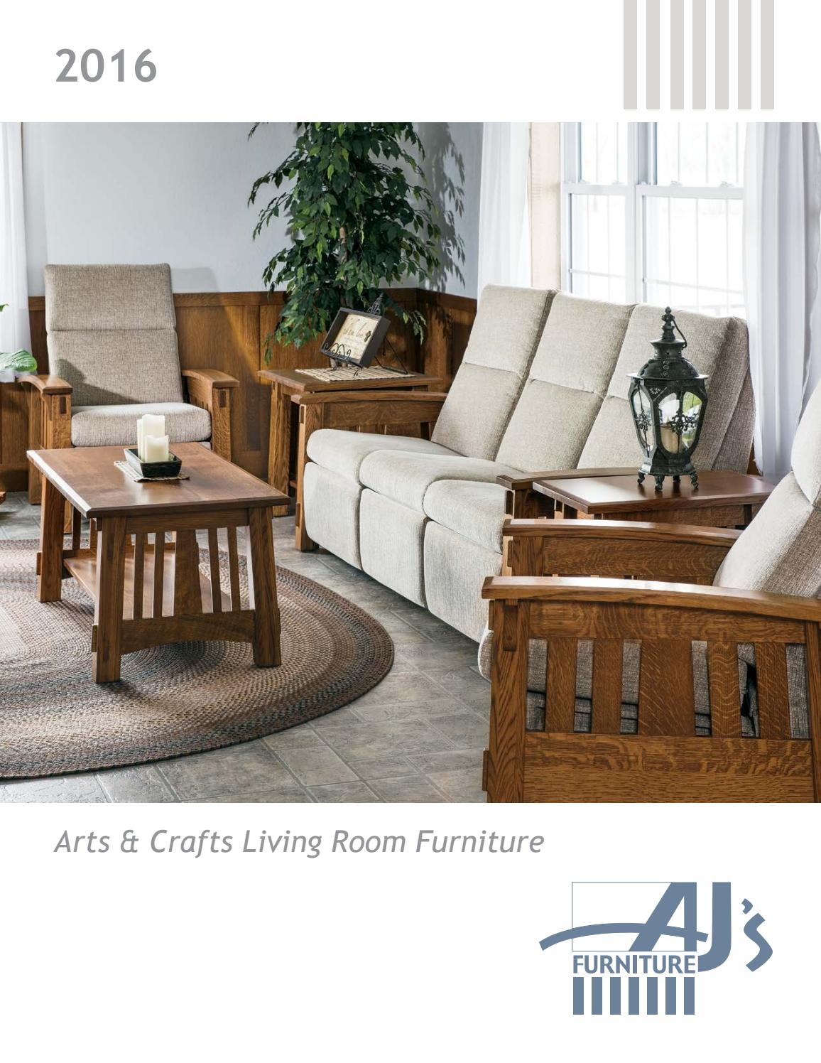 2016 Aj S Furniture Catalog Living Room E Amp G Amish
