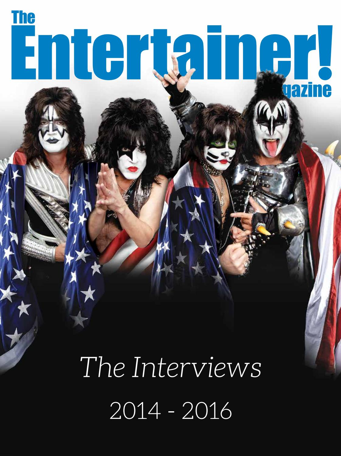 The Entertainer! Special Edition - The Interviews 2014-2016 by Times Media  Group - issuu