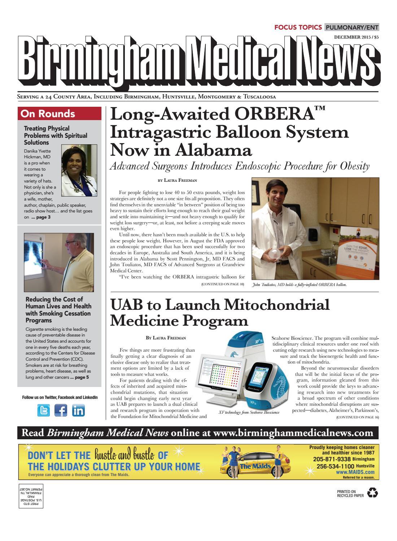 December 2015 BMN by Medical News - issuu