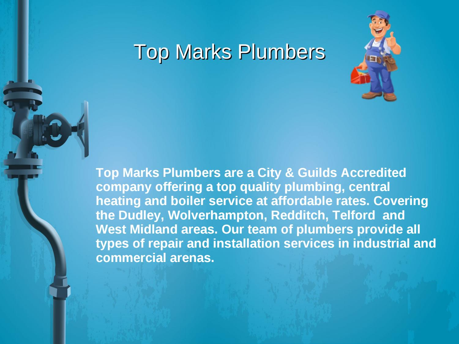 Top Marks Plumbers by Nick Marks - issuu