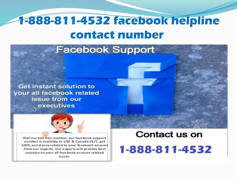 1 888 811 4532 Facebook Helpline Number Facebook Help Number By Amelia Silverwood Issuu