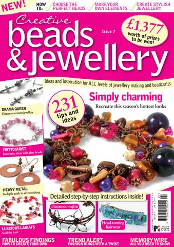 Risultati immagini per creative beads and  jewellry issue 6