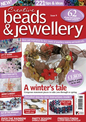 Risultati immagini per creative beads and  jewellry issue 9