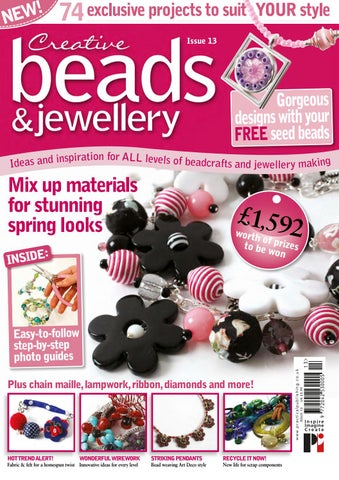 Risultati immagini per creative beads and  jewellry issue 18