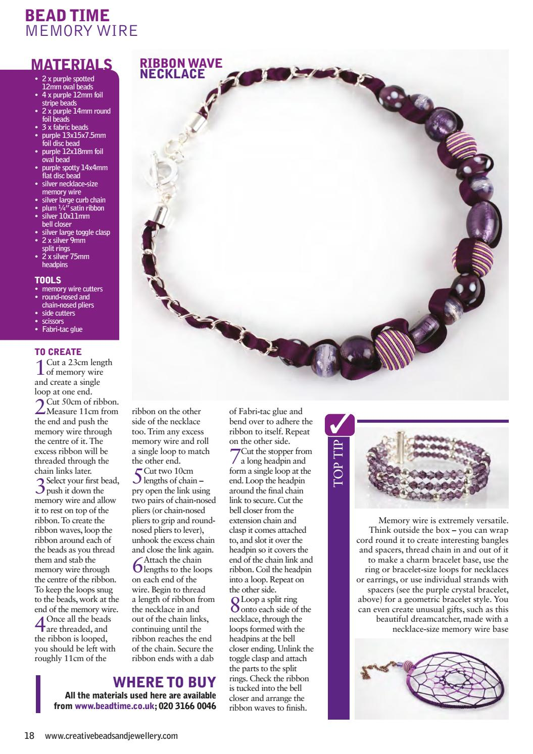 Creative Beads and Jewellery 15 by Practical Publishing - issuu