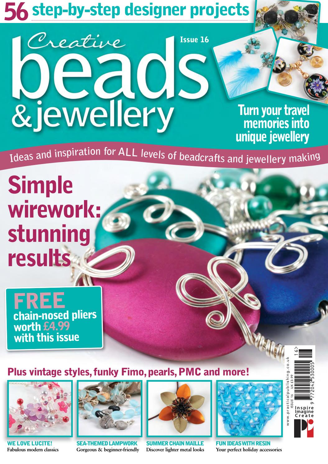 Creative Beads and Jewellery 16 by Practical Publishing - issuu