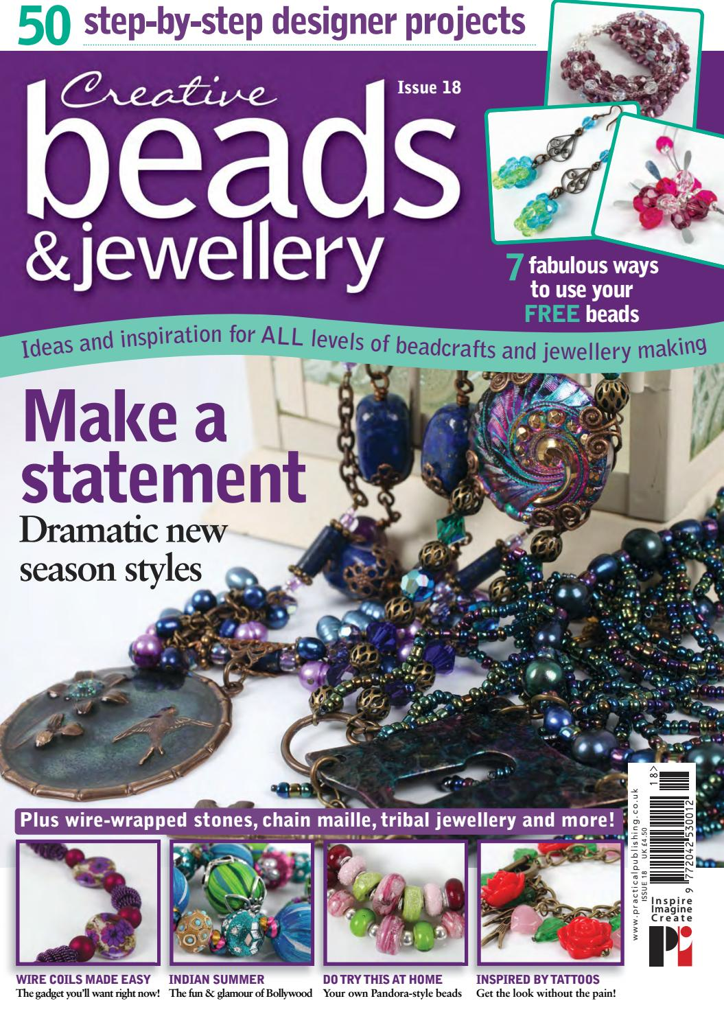 c8e896a57 Creative Beads and Jewellery 18 by Practical Publishing - issuu