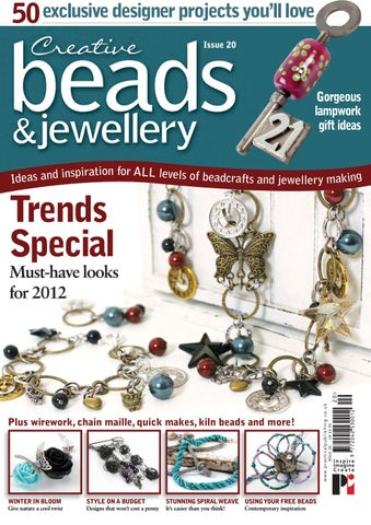 Risultati immagini per creative beads and  jewellry issue 20