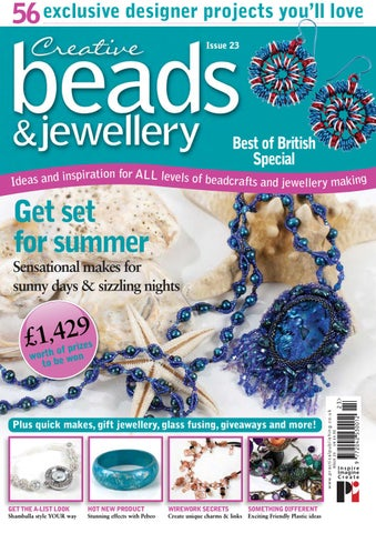 Risultati immagini per creative beads and  jewellry issue 5
