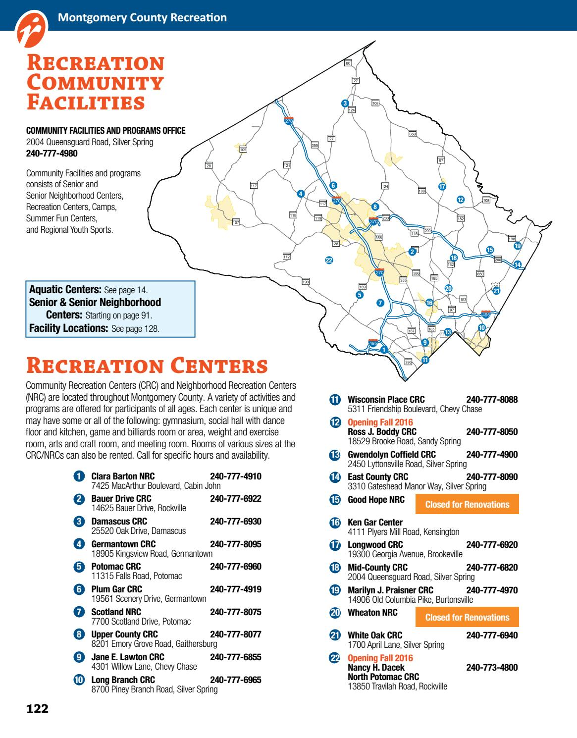 Fall 2016 Guide by Montgomery County Recreation issuu