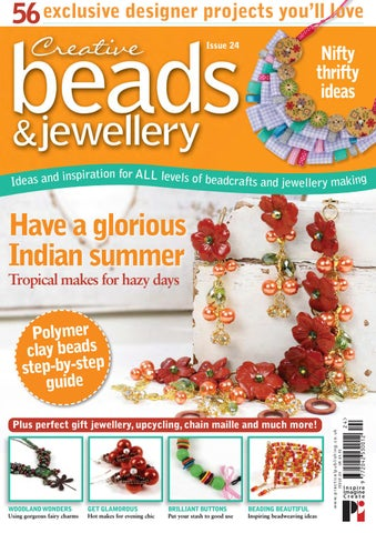 Risultati immagini per creative beads and  jewellry issue 22
