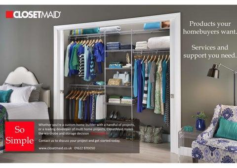 Exceptional ClosetMaid Trade Brochure