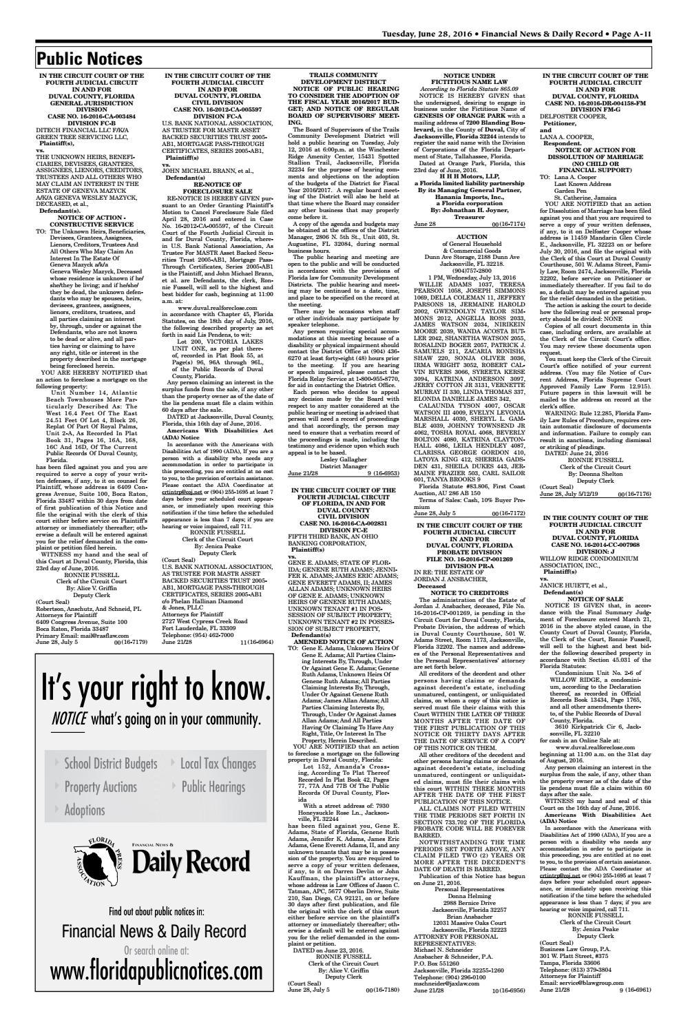 duval cvounty florida official public records search