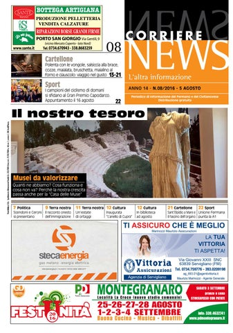 42e6f8f2f7 CORRIERE NEWS AGOSTO 2016 by Corriere News - issuu