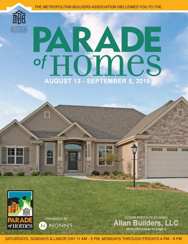 Mba 2016 parade of homes plan book by metropolitan builders the metropolitan builders association welcomes you to the malvernweather Gallery