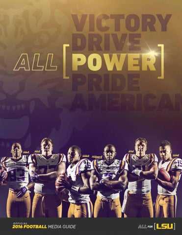 b274e9aa1 2016 LSU Football Media Guide by LSU Athletics - issuu