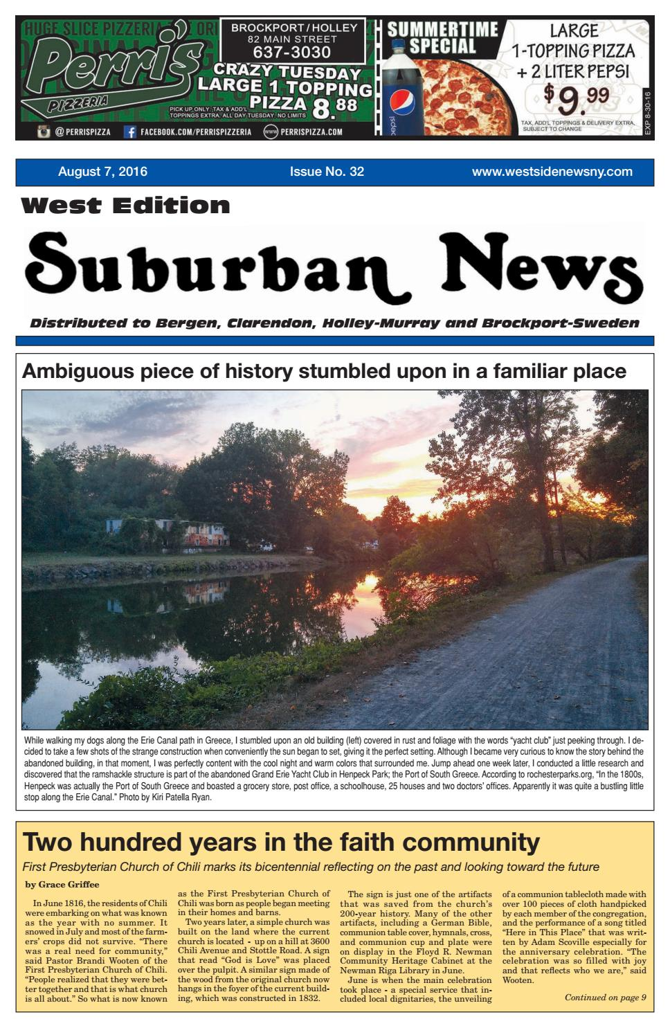 Suburban News West Edition - August 7, 2016 by Westside News Inc ...
