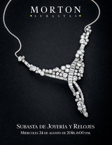 dcdea4eea4f8 Subasta de Joyería y Relojes by Morton Subastas - issuu