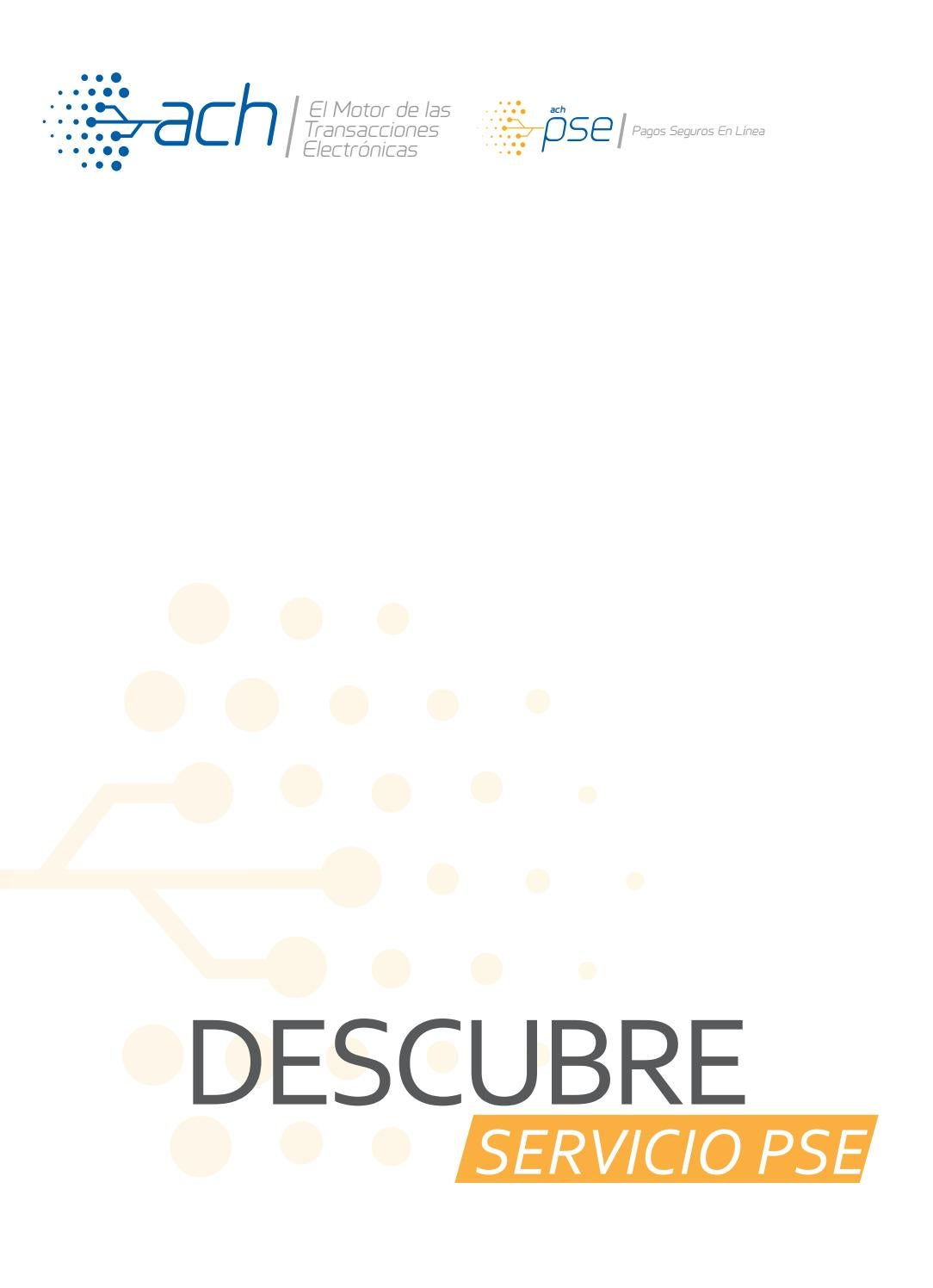 Descubre servicio pse by ACH Colombia - issuu