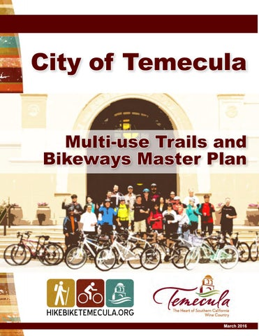 Temecula Trails and Bikeway Master Plan (LoRes) by KTUA - issuu