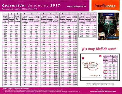 Convertidor catalogo intima hogar 2016 2017 by catalogos for Bricoman elmas catalogo 2017