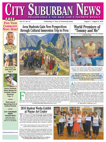 CIty Suburban News 8 3 16 Issue By City