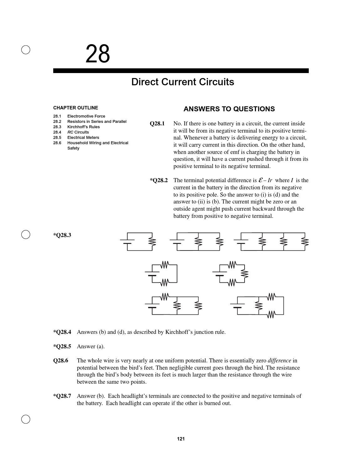 Electricidad By Juan Hidalgo Issuu Direction Of Current In A Circuit