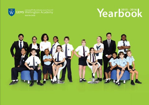 WSO Yearbook 2015/16 by GEMS Wellington Academy - Silicon Oasis - issuu