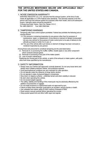 Sym jet users manual by bill abraham - issuu