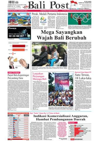 Edisi 8 Agustus 2016 Balipost Com By E Paper Kmb Issuu
