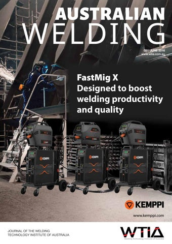 Australian Welding June 2016 by Weld Australia - issuu