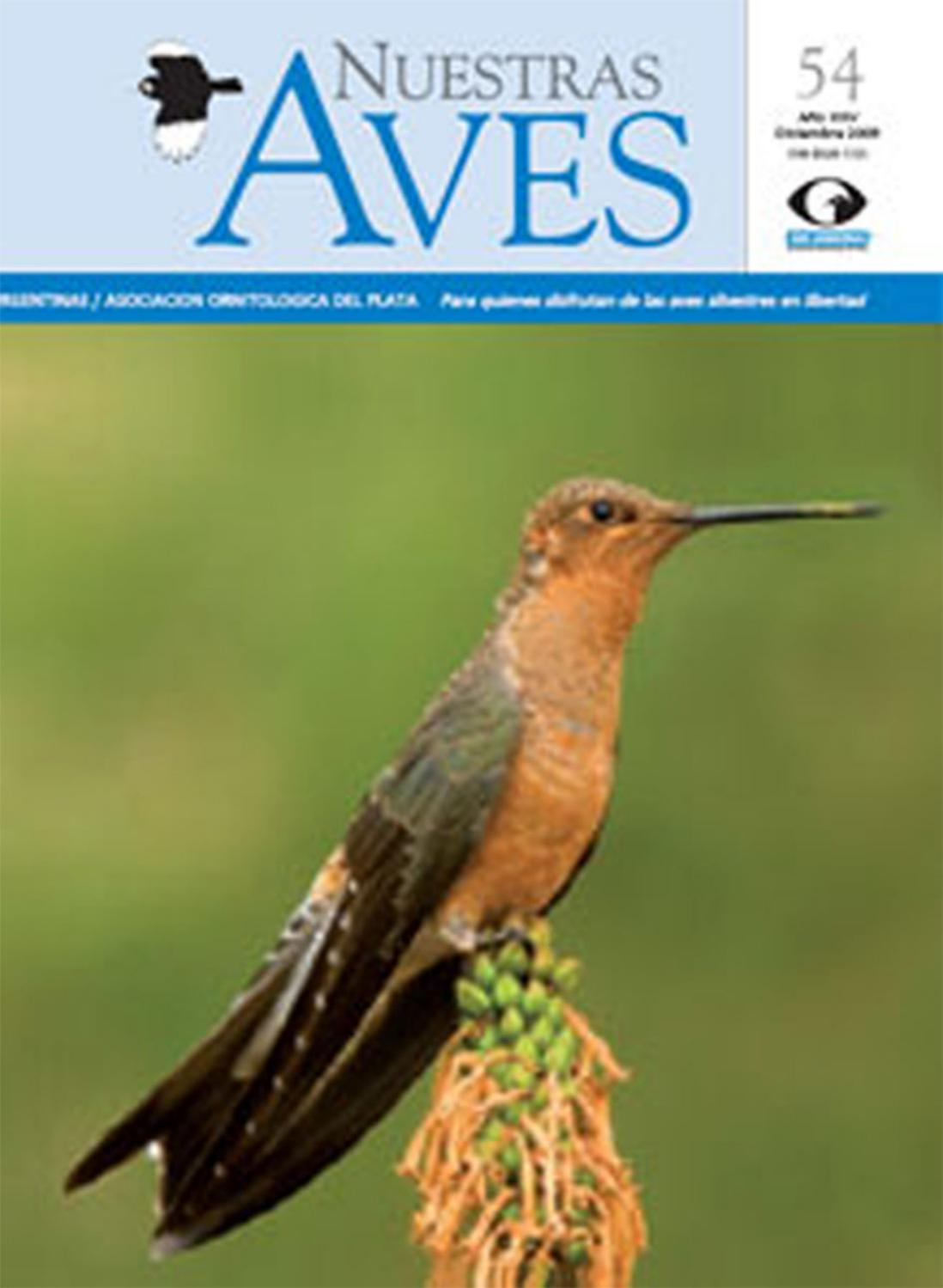 Revista nuestras aves n54 by Aves Argentinas - issuu