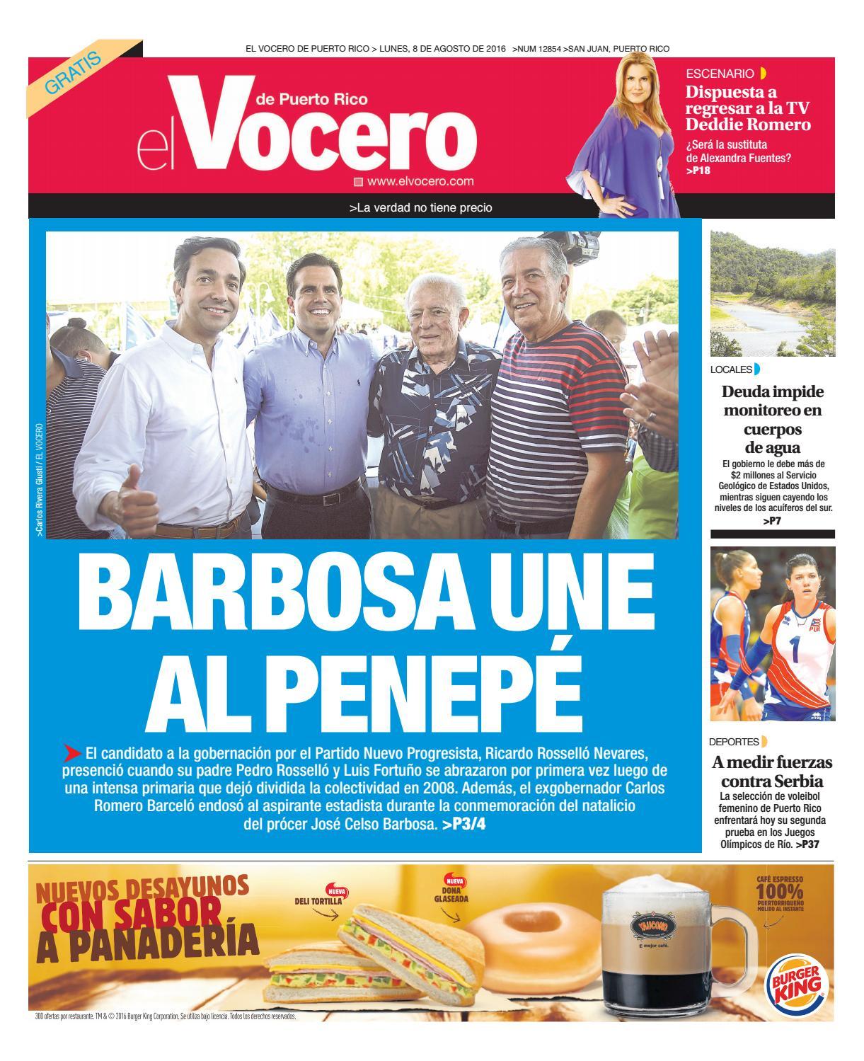 363333af3 Edición 8 de Agosto 2016 by El Vocero de Puerto Rico - issuu