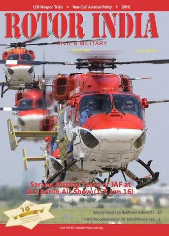 Rotor india journal june16 rwsi