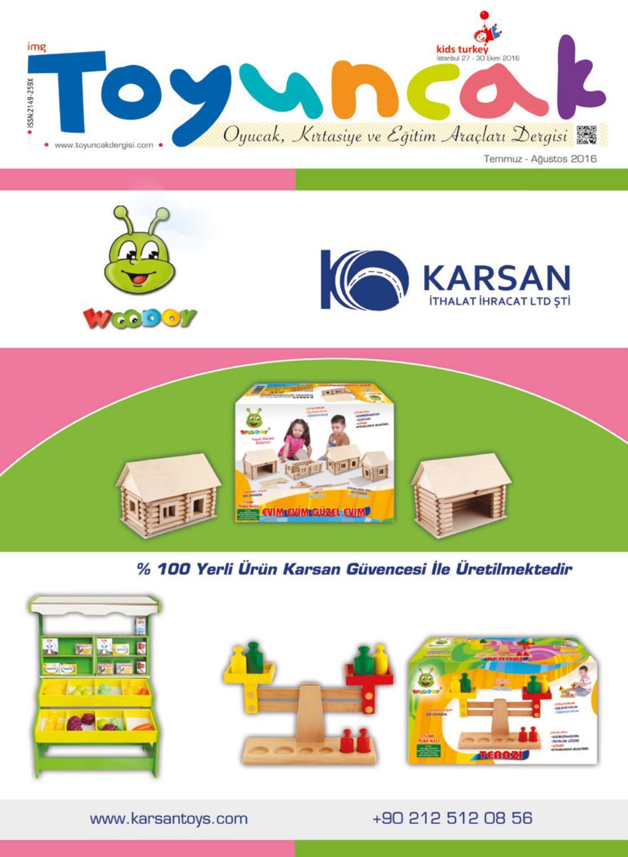 0-6 yaş grubundaki çocuklar için eğitici oyuncaklar