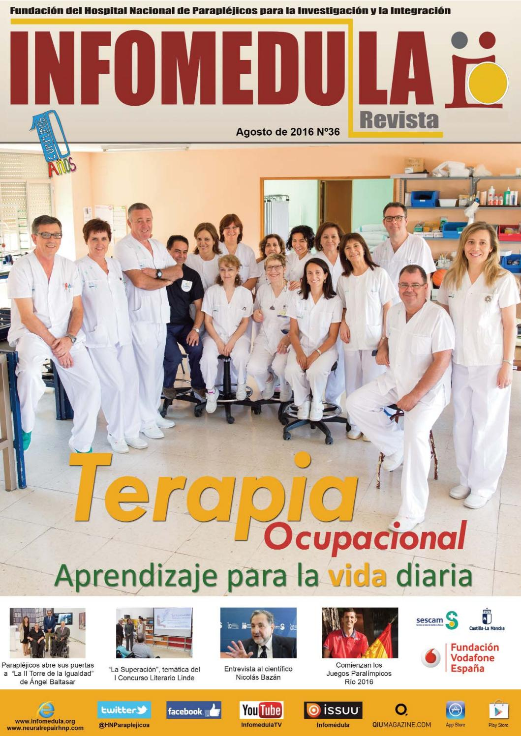Infomédula Nº36 by Hospital Parapléjicos - issuu