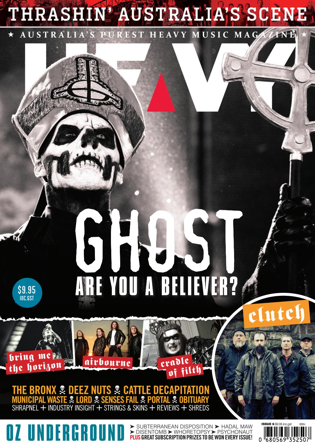 Heavy Music Magazine Issue #6 by HEAVY Music Magazine - issuu