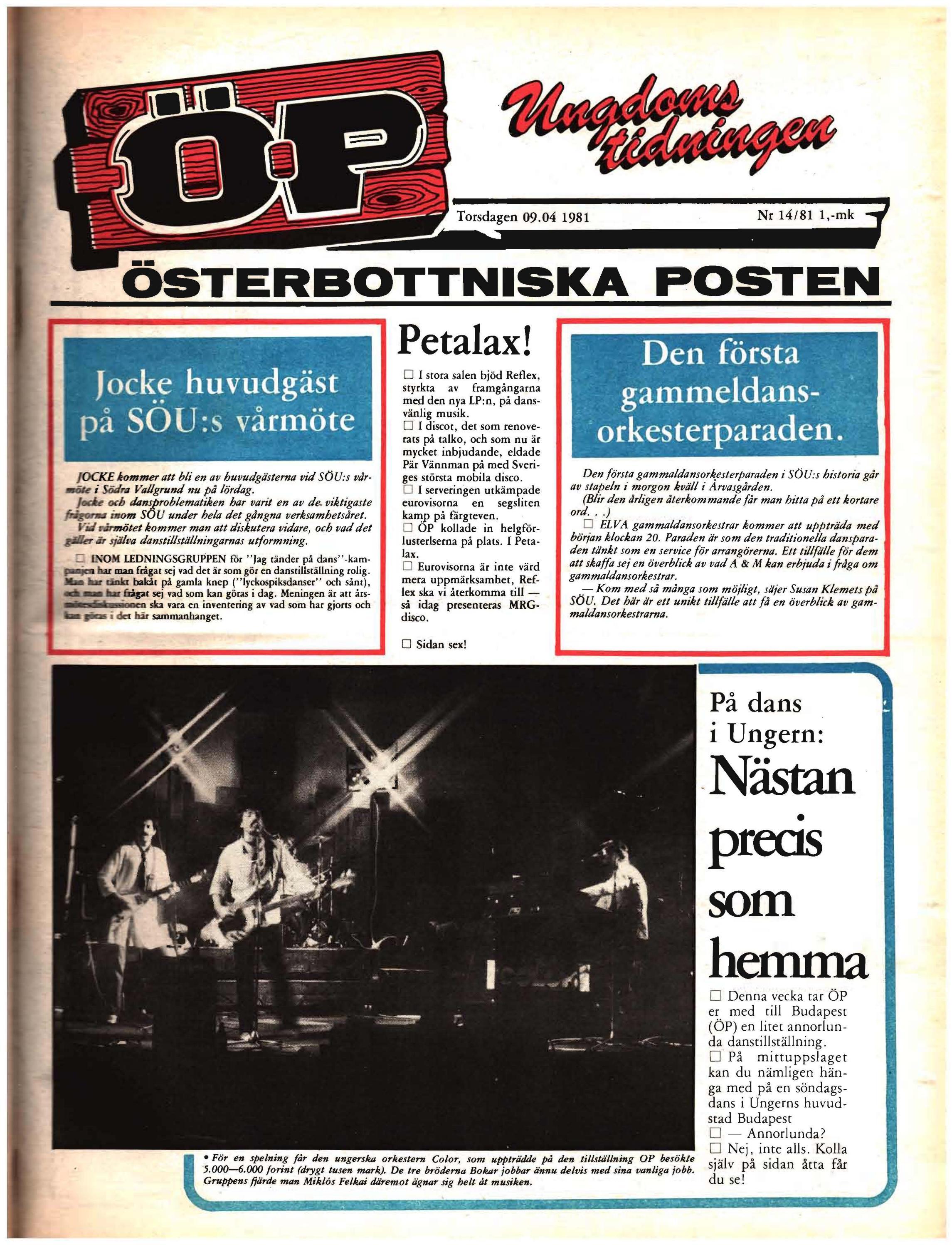 f937a3c280b Österbottniska Posten (ÖP) nr. 14 1981 by Österbottniska Posten - issuu