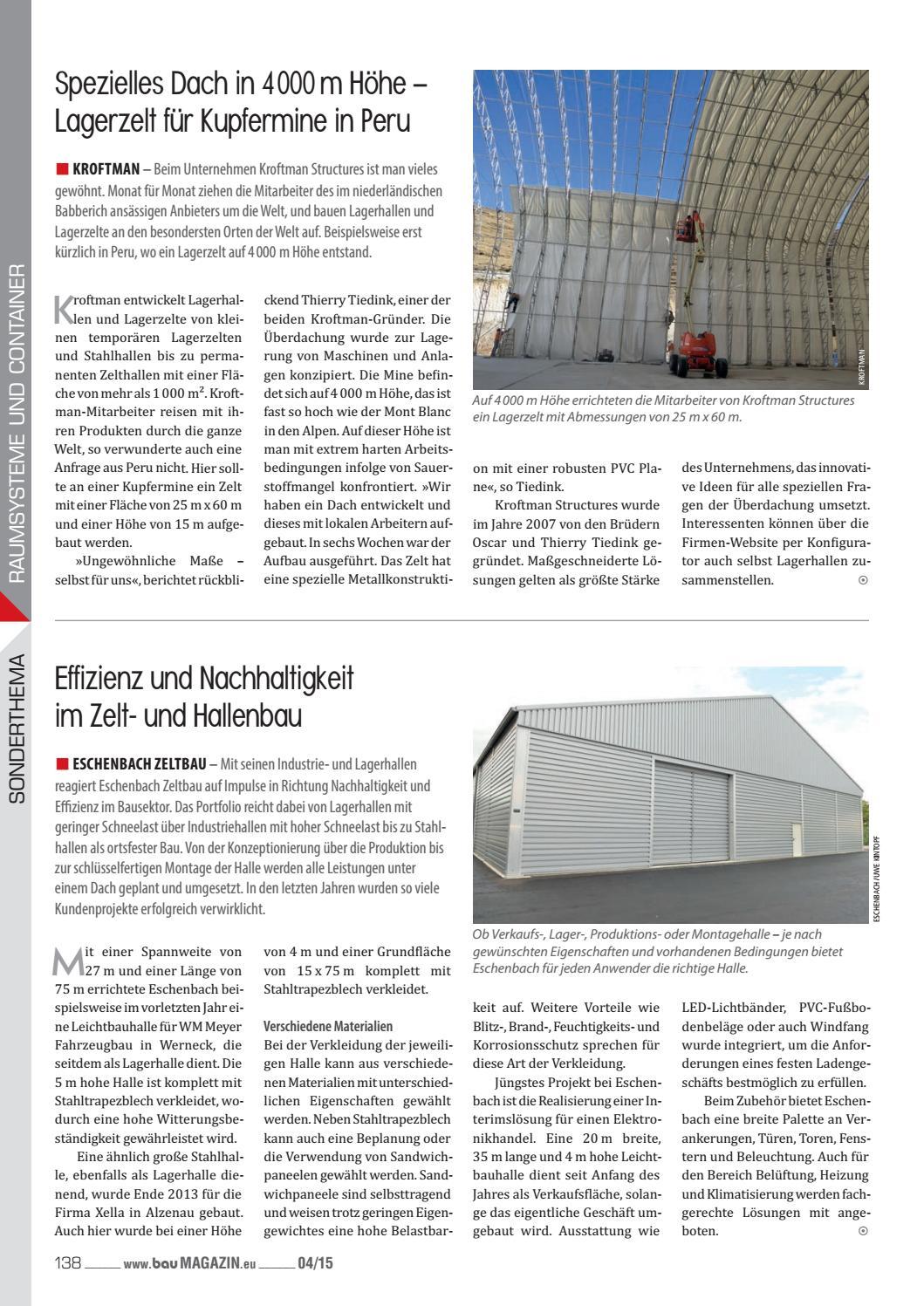 Baumagazin April 2015 by SBM Verlag GmbH - issuu