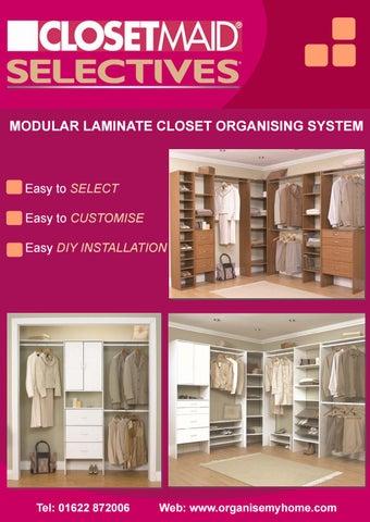 Closetmaid Selectives Range Brochure By Closetmaid Uk Issuu