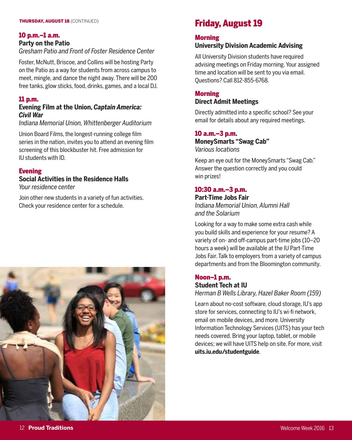 2016 Welcome Week e-Booklet by Office of First Year