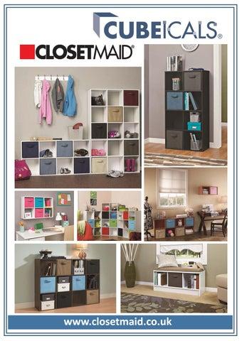 Beautiful ClosetMaid Cubeicals Range